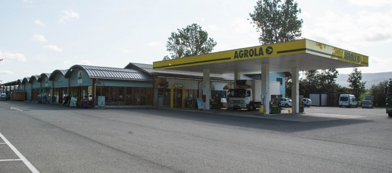 Station Landi-Agrola à Alle